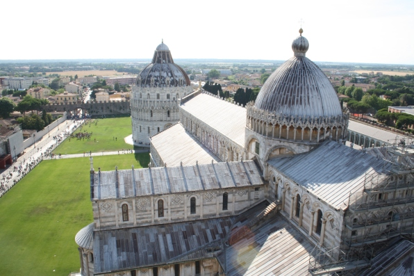 View from the Leaning Tower