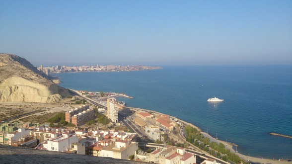 View from Santa Barbara Castle