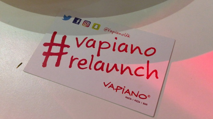 From a Tweet to #VapianoRelaunch